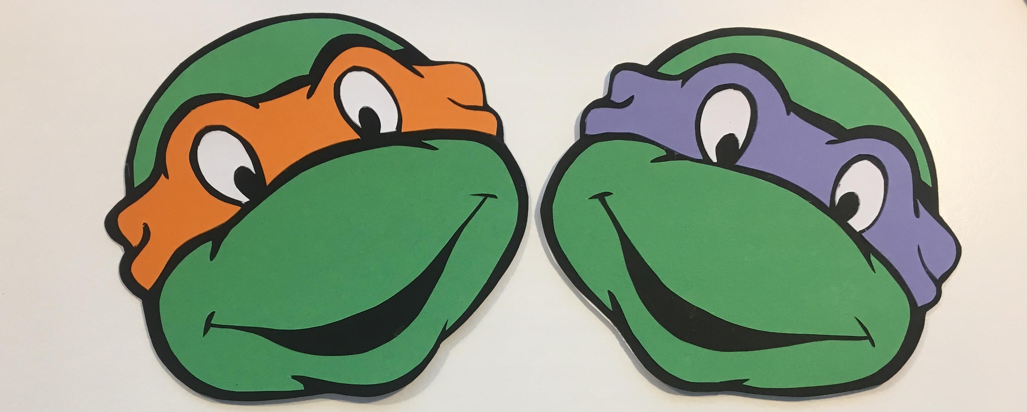 Ninja Turtles invitationer